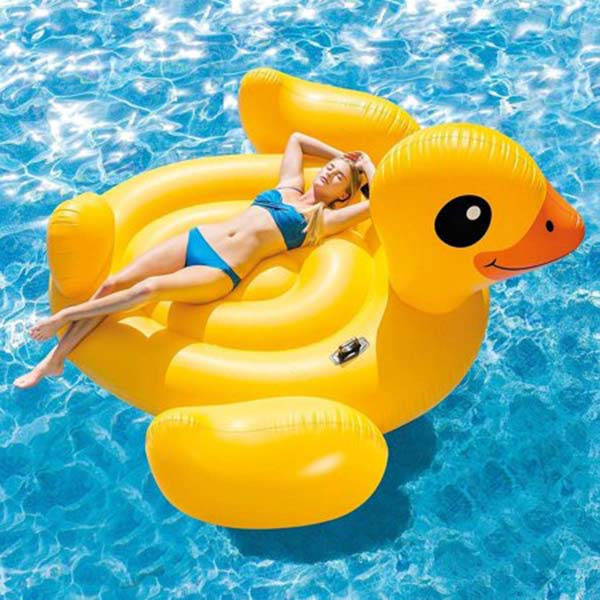 Inflatable Mega Yellow Duck Island
